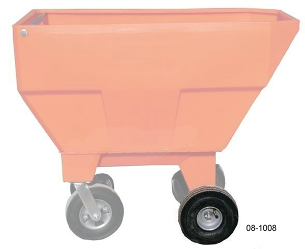 "Picture of Highcroft 410/358 x 4"" Fixed Pneumatic Wheel"