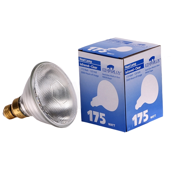 Picture of Hog Slat® Hard Glass Heat Lamp Bulb 175W