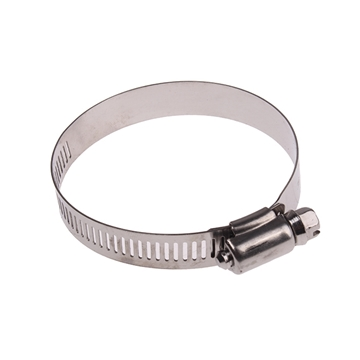 "Picture of Hose Clamp SAE20 13/16"" - 1-3/4"" SS"