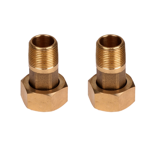 """Picture of 3/4"""" Water Meter Fitting - Bronze"""
