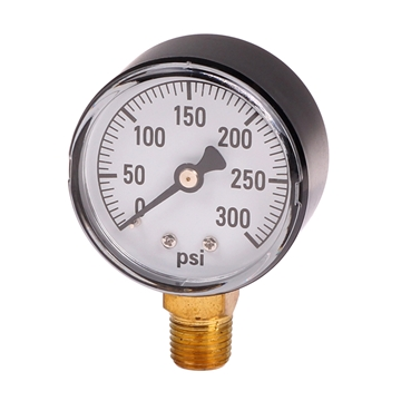 Picture of Water Pressure Gauge 0-300 PSI