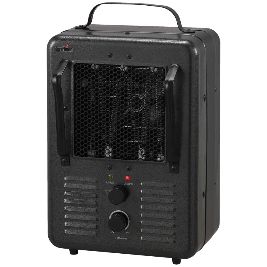 duraflame 1t electric utility heater hog slat. Black Bedroom Furniture Sets. Home Design Ideas