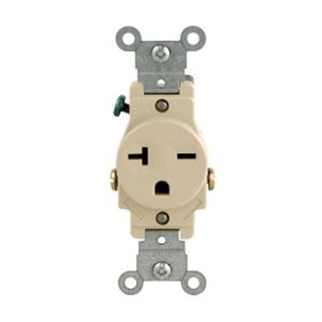 Picture of Single Receptacle 20 AMP 250V