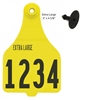 Picture of Duflex® XL Cattle Tag - Numbered