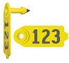 Duflex® Sheep & Goat Tag - Numbered