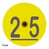 Duflex® Standard Round Swine Tag - Numbered