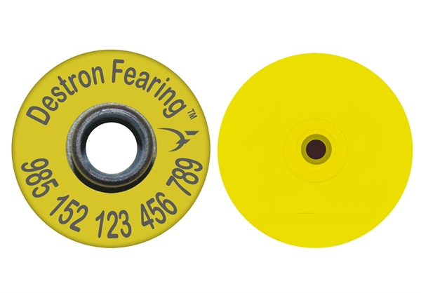 Picture of Combo Round Blank Stud With RFID Ear Tag