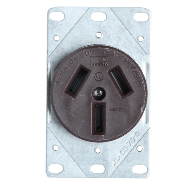 Picture of Receptacle 50A 125/250V Crow Foot