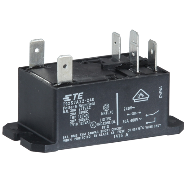 Picture of Relay Plug-In DPST 2 NO 240V