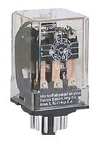 Picture of Octal Relay 11 Pin 120/240V 10 Amp
