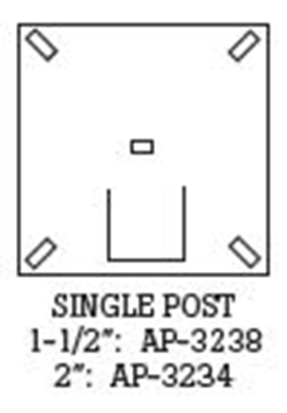 Picture of Single U-Channel Posts
