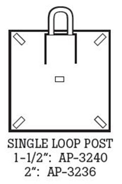 Picture of Single Loop U-Channel Posts
