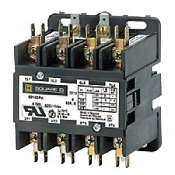 Picture of Contactor 4 Pole 25 Amp 120 V