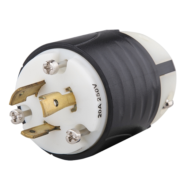 Picture Of Twist Lock Plug 20a 240v