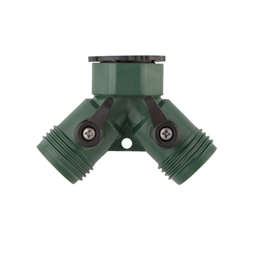 "Picture of 3/4"" FGHT Hose Wye Connector with Shutoffs"
