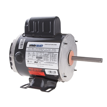 Picture of Grower SELECT® 1/3 HP 1100 RPM Fan Motor