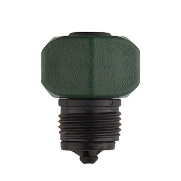 "Picture of Male Hose End 5/8"" x 3/4"" - Plastic"