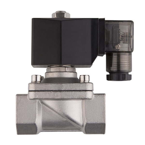 """Picture of 3/4"""" FNPT Stainless Solenoid Valve 110V NC"""