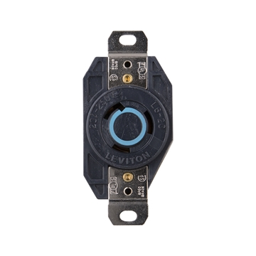 Picture of Receptacle Twist Lock 20A 230V Box Mount