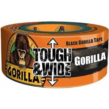 "Picture of Gorilla Tape Tough & Wide 3"" x 30 Yard Roll - Black"