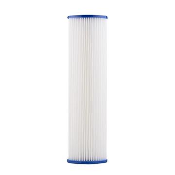 "Pleated Water Filter Cartridge (20 Micron 2-3/8"" O.D.)"