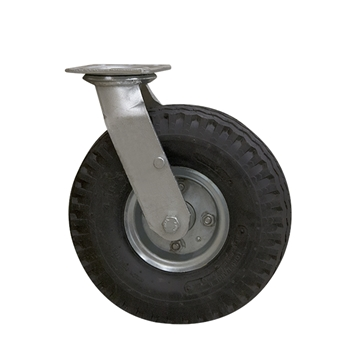 Picture of Rear Swivel Solid Tire for 4 Wheel Carcass Cart