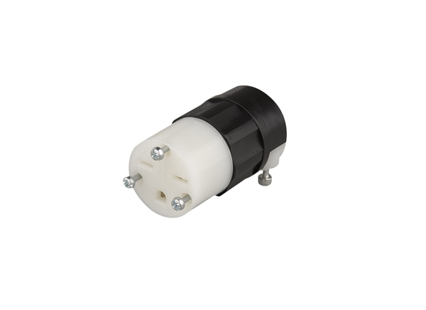 Picture of Plug Female Connector Straight Blade 15A 250V