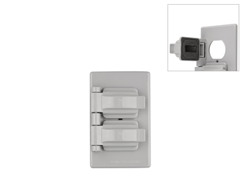 Picture of Weatherproof Duplex Receptacle Cover - Double Door