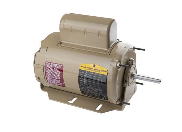 Picture of 1/3 HP Fan Motor 1100 RPM 115/230V