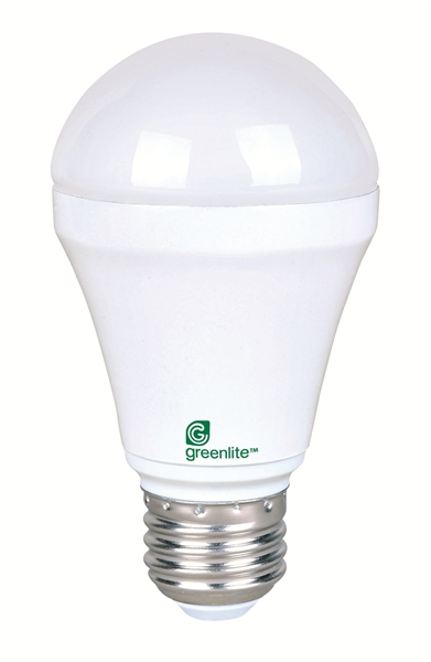 Picture Of 7w Led A19 5000k Dimmable Greenlite Bulb