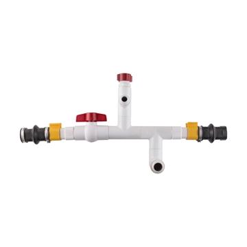 Picture of Lubing® Shut-off Midline 28mm w/ Flush