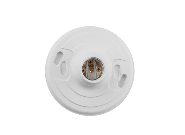 Picture of Plastic Light Receptacle w/ No Leads