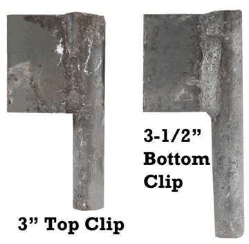 "Picture of 3-1/2"" Bottom Latch Clip"