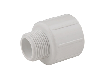 "Picture of 1"" Slip x 3/4"" MPT PVC Reducing Male Adapter"