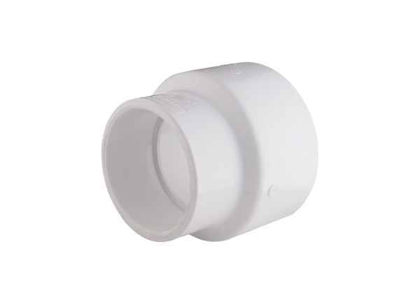 """Picture of 4"""" x 3"""" Reducing Coupler PVC SCH 40"""