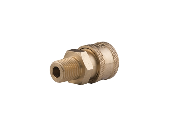 Picture of High Pressure Male Brass Couplers