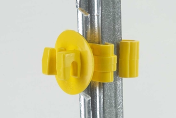 Picture of Snug Electric Fence Insulator for T-Posts - 25 Pack