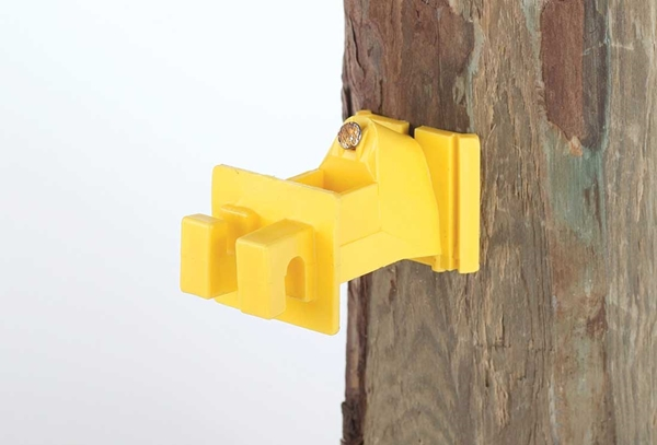 Extended Fence Insulator For Wood Posts 25 Pack