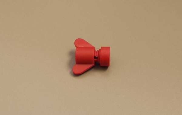 "Picture of 1/8"" Plastic Azuma Curtain Nut"