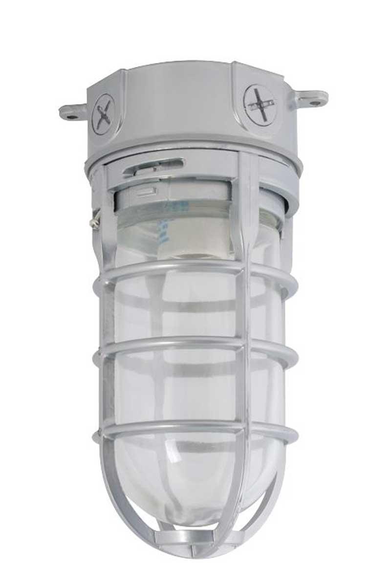 Incandescent Bulb Vapor Tight Ceiling Fixture Hog Slat