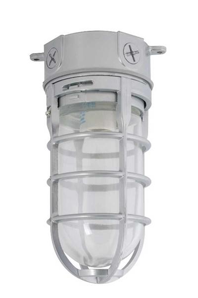 Incandescent Bulb Vapor Tight Ceiling Fixture