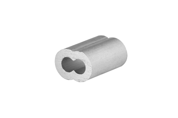 """Picture of 1/8"""" x 3/16"""" Aluminum Cable Sleeve"""