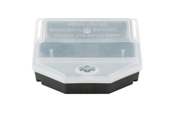 Aegis® Mouse Bait Station (Clear Lid) - Closed