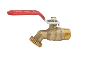 "Picture of 1/2"" Ball Valve Handle Spigot"