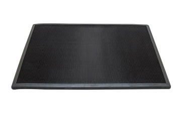 Picture of BLACK RUBBER DISINFECTANT MAT