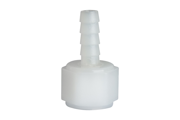"Picture of 1/4"" Swivel Nut Adaptor w/ Barb. Nylon"