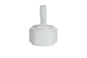 "Picture of 1/2"" x 1/4"" Nylon Swivel Nut with Barb"