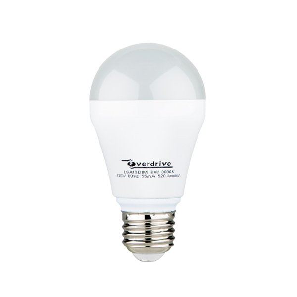 Picture of Overdrive LED 6W 3000K Bulb - Dimmable
