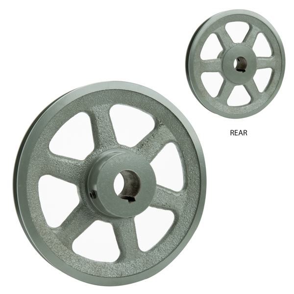 """Picture of 7"""" Dia x 1"""" Bore Fan Pulley AK74-1"""