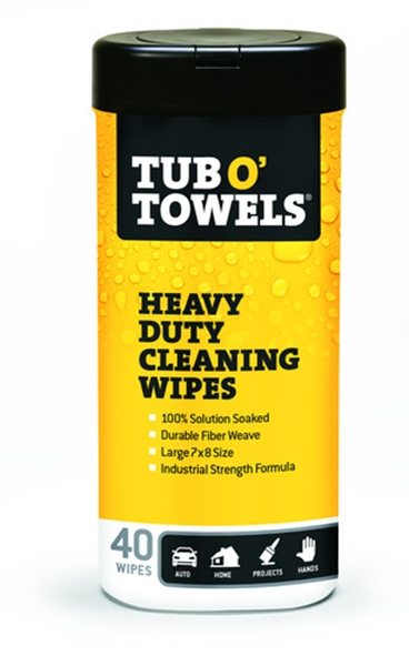 Picture of Tub O' Towels Heavy Duty Wipes